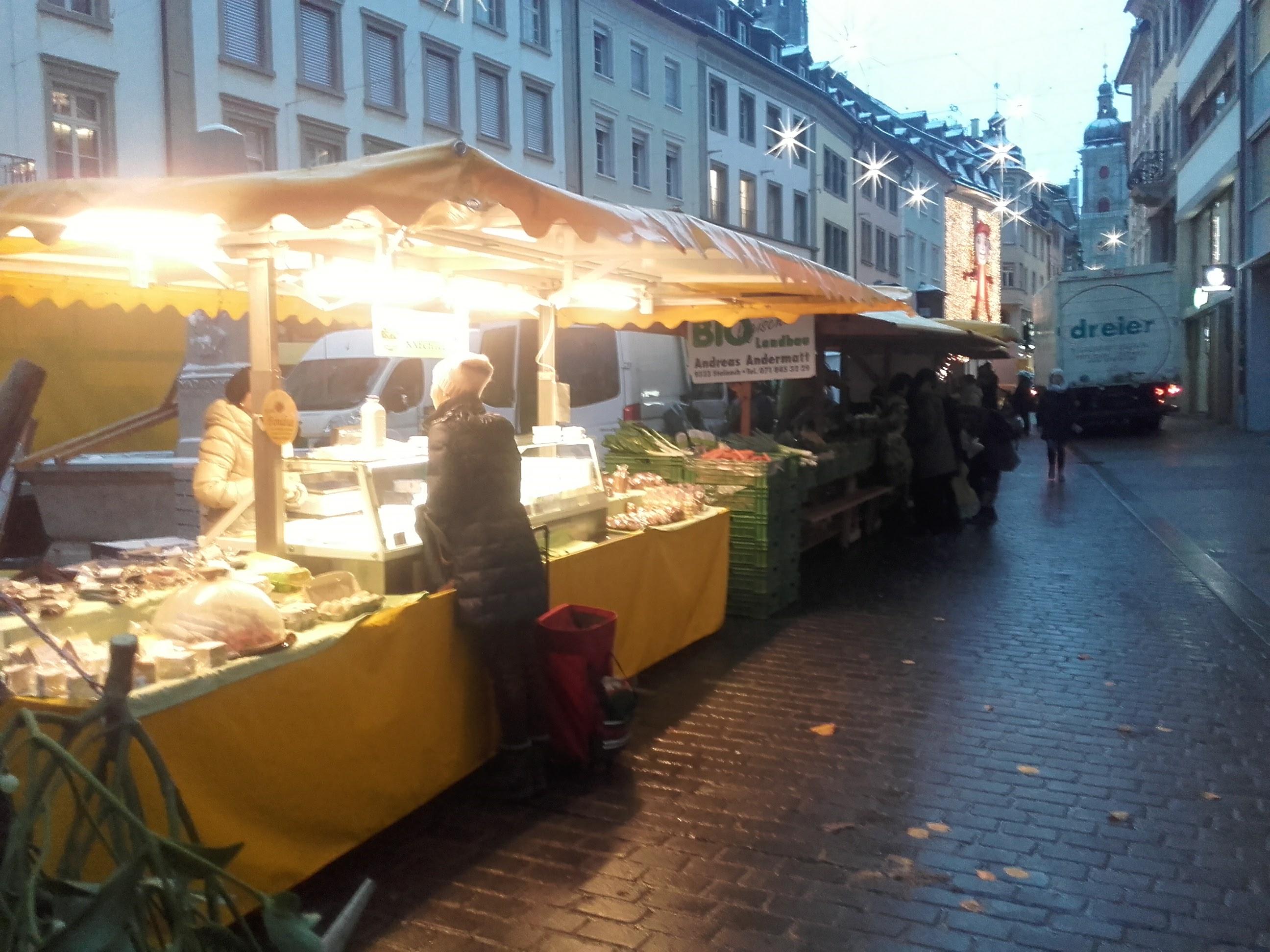 Letzter Bauernmarkt 2017